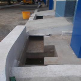Création de canalisations pour protéger les maisons à l'avenir