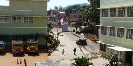 L'entrée du Centre Don Bosco, Yelagiri Hills