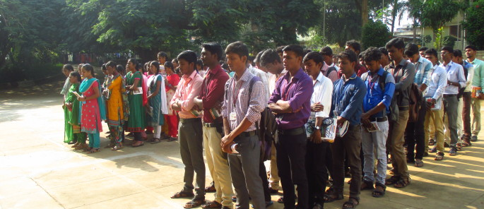 Etudiants à l'université Centre Don Bosco Yelagiri