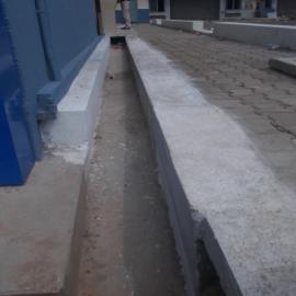 Canalisations pour protéger les maisons des pluies