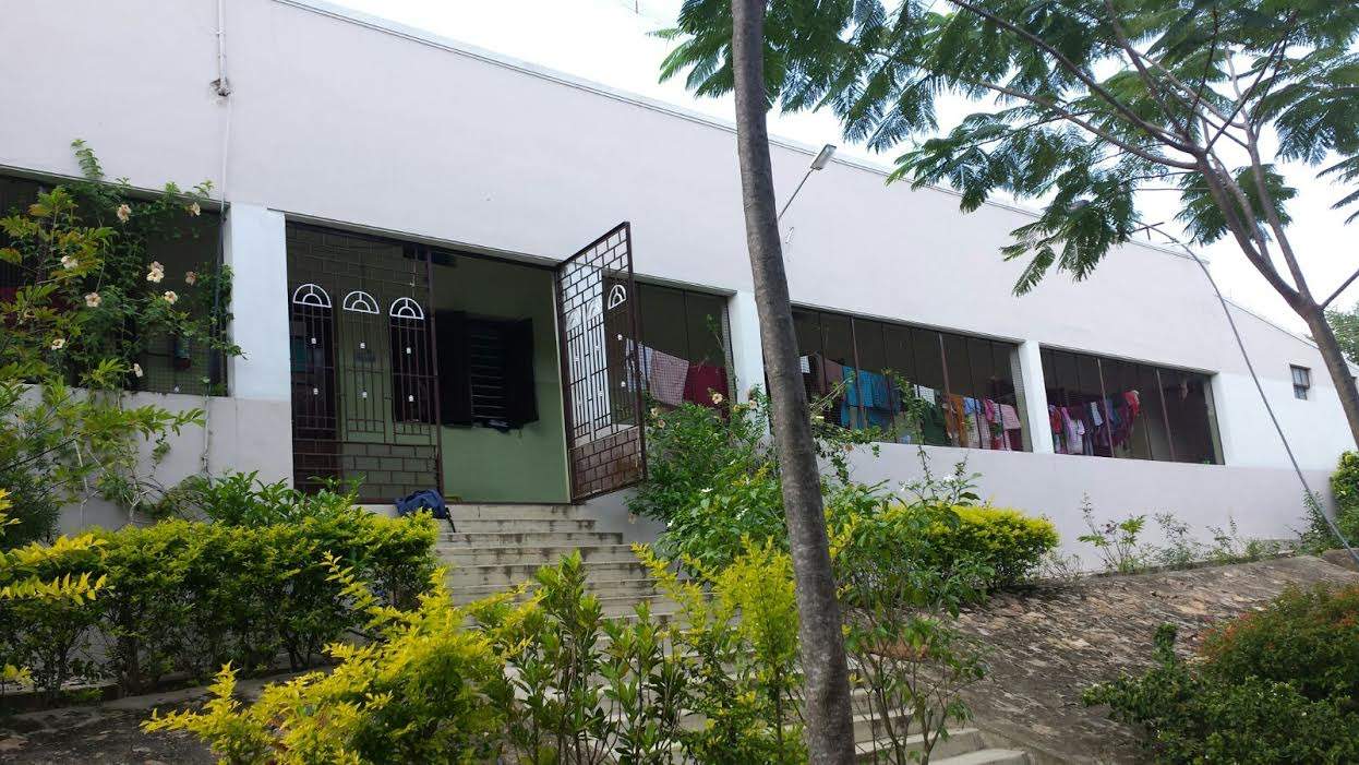 Entrée du bâtiment de Kadambur
