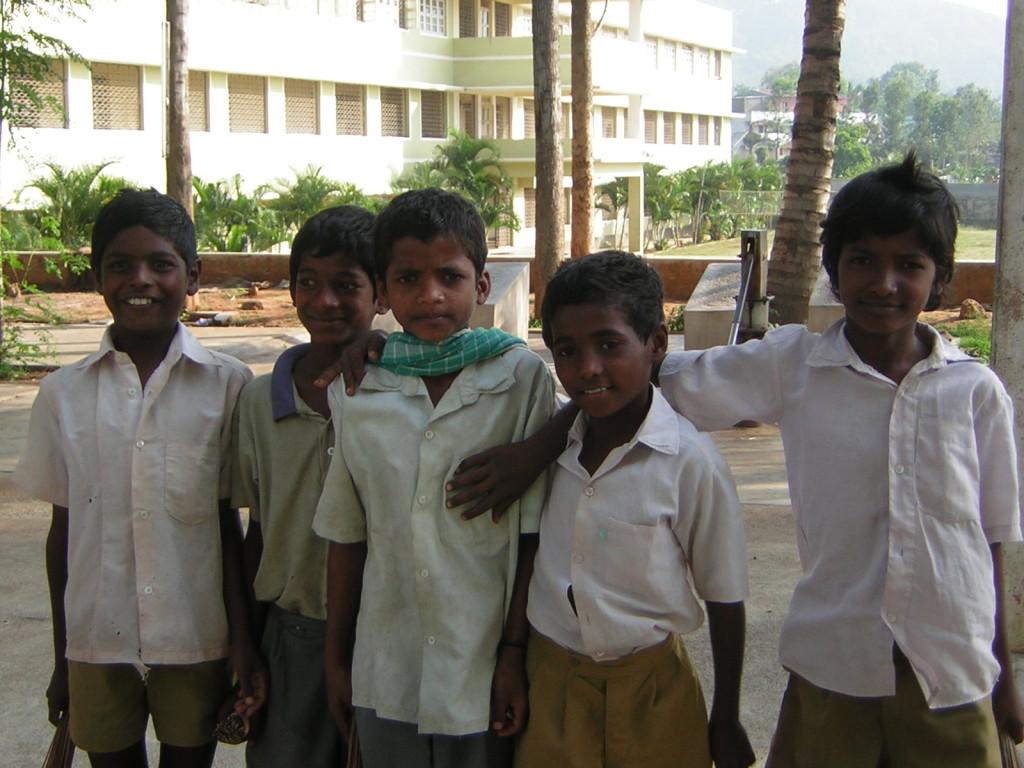 Les jeunes garçons du Centre Don Bosco