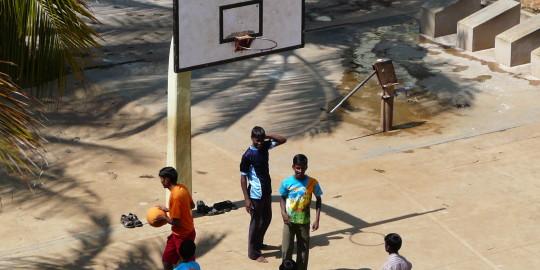 Terrain de sport - Basket