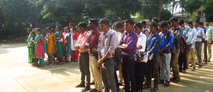 Etudiants à l'université Centre Don Bosco Yelagiri
